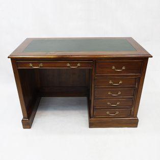 Письменный стол из массива дерева однотумбовый  BPD 120 green. Цена на образец.