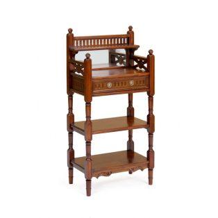 Этажерка деревянная напольная PWN 61 ручной работы