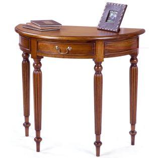 столик-консоль PCT 80 полукруглый с выдвижным ящиком