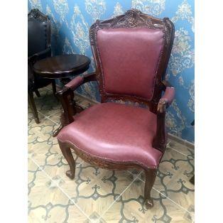 кресло кожаное PAC 51