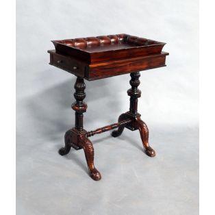 Прямоугольный деревянный столик с подносом BDC 45