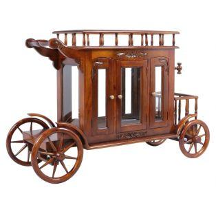 Сервировочный стол-карета на колесиках PYW 18